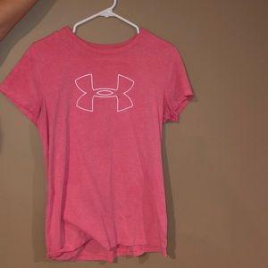 Pink Under Armour T-Shirt